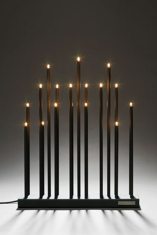 the electric advent candelabra fagerhult innovator. Black Bedroom Furniture Sets. Home Design Ideas