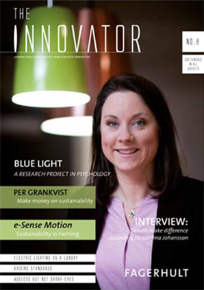 Cover of Fagerhult Innovator issue 8
