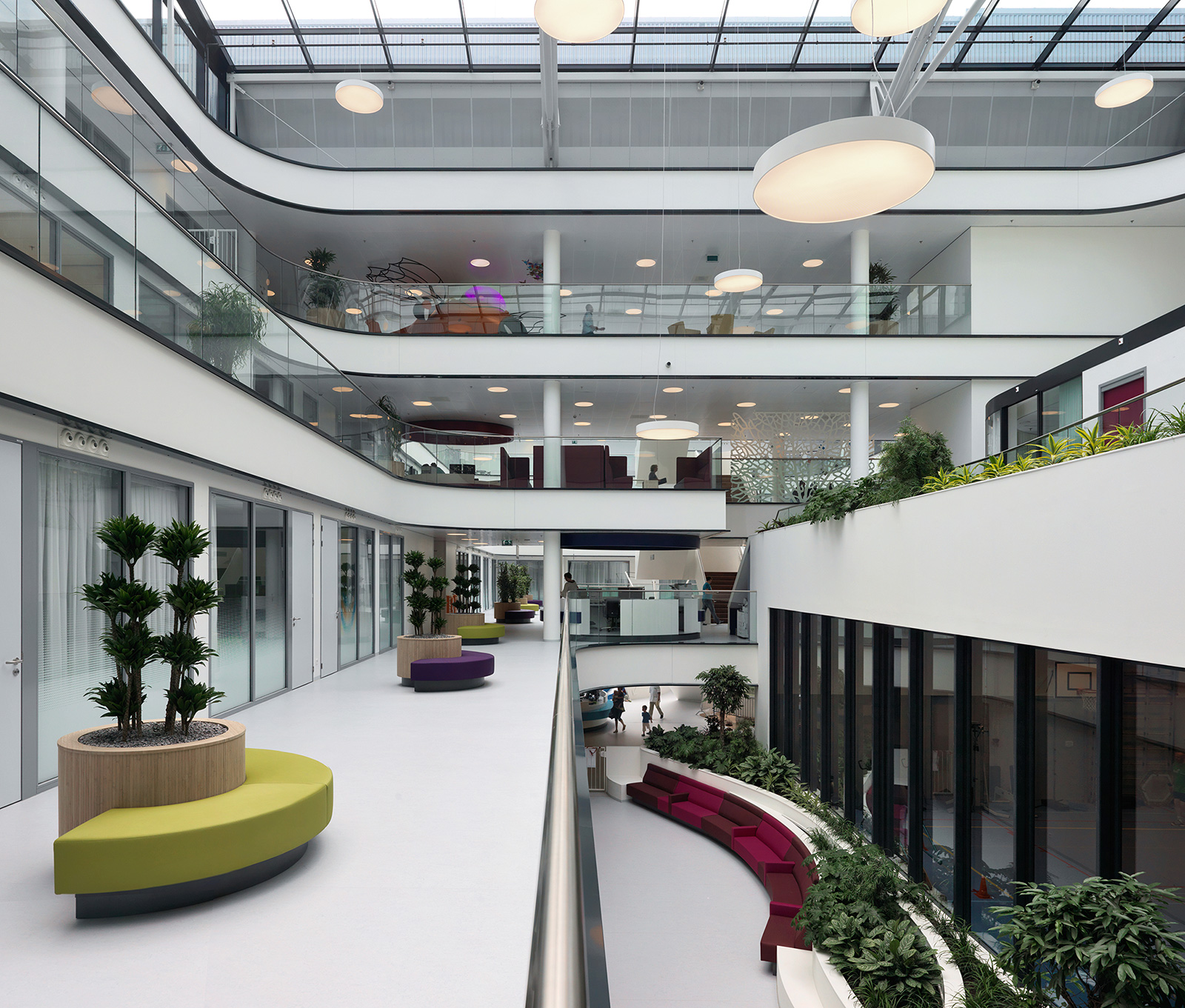 Haga Teaching Hospital - Fagerhult (Norge)